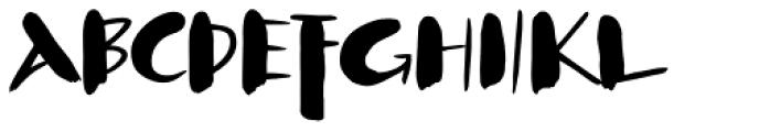 Klex Font UPPERCASE