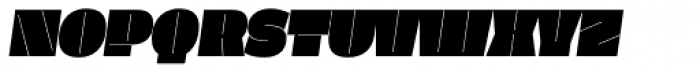 Klimax Std Plus Italic Font UPPERCASE