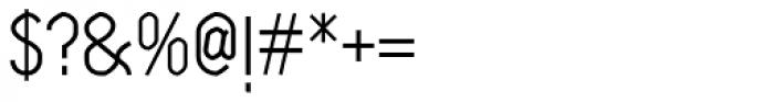 Klipa Medium Font OTHER CHARS