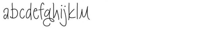 Kloegirl Lotus Font LOWERCASE