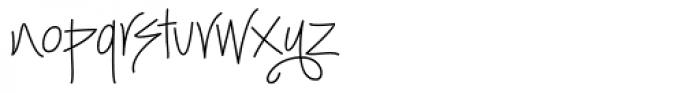 Kloegirl New York Font LOWERCASE