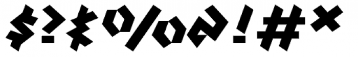 Klute Black Font OTHER CHARS