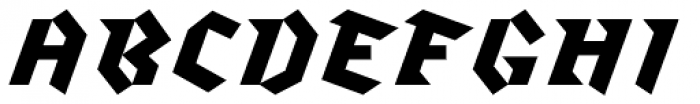 Klute White Font UPPERCASE