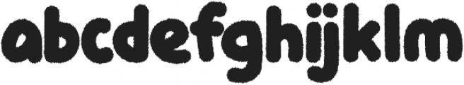 Knicknack Fuzzy otf (400) Font LOWERCASE