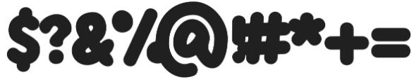 Knicknack otf (400) Font OTHER CHARS