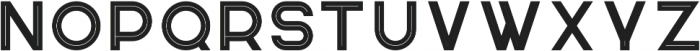 Knowhere OutlineTwo otf (400) Font UPPERCASE