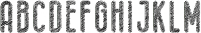 Knowledge Sketch Clean otf (400) Font UPPERCASE