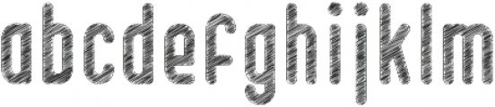 Knowledge Sketch Clean otf (400) Font LOWERCASE