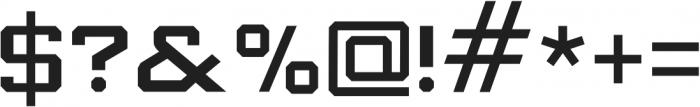 Knox Regular otf (400) Font OTHER CHARS