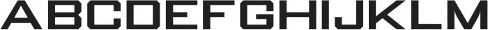 Knox Regular otf (400) Font LOWERCASE