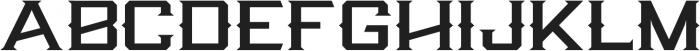 Knox Serif Serif otf (400) Font UPPERCASE