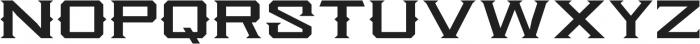 Knox Serif Serif otf (400) Font LOWERCASE