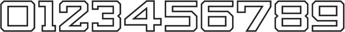 Knox Slab Outline Slab O otf (400) Font OTHER CHARS