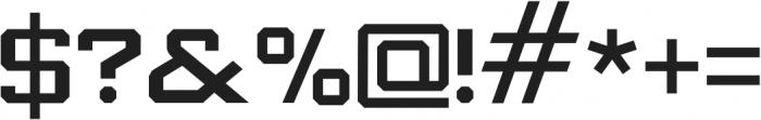 Knox Slab Slab otf (400) Font OTHER CHARS