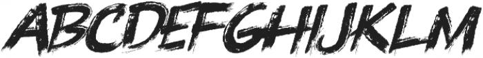Knuckle Sandwich Italic ttf (400) Font LOWERCASE