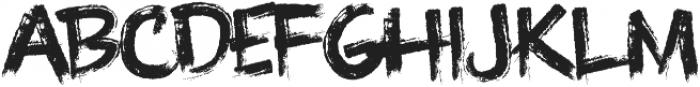 Knuckle Sandwich ttf (400) Font LOWERCASE