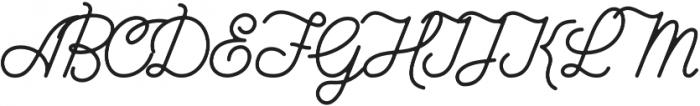 Knucklehead Deco Black otf (900) Font UPPERCASE