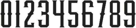 Knucklehead Deco Regular otf (400) Font OTHER CHARS