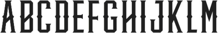 Knucklehead Deco Regular otf (400) Font UPPERCASE