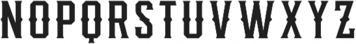 Knucklehead Deco Regular otf (400) Font LOWERCASE