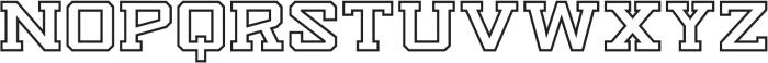 Knucklehead Serif Black otf (900) Font UPPERCASE