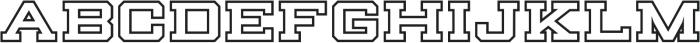 Knucklehead Serif Black otf (900) Font LOWERCASE