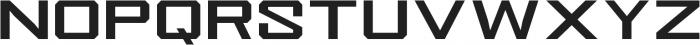 Knucklehead Serif Bold otf (700) Font LOWERCASE