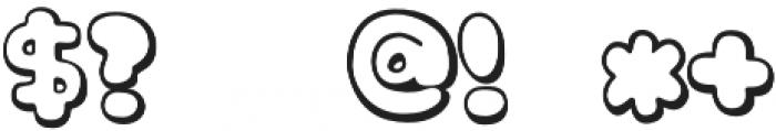knsw_MilkCandy otf (400) Font OTHER CHARS