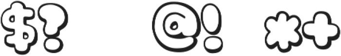 knsw_MilkCandyTTF ttf (400) Font OTHER CHARS