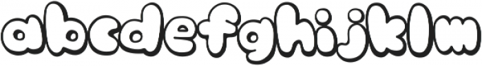 knsw_MilkCandyTTF ttf (400) Font LOWERCASE