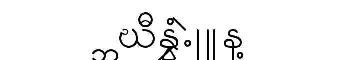 KNU-Karen Normal Unique Font UPPERCASE
