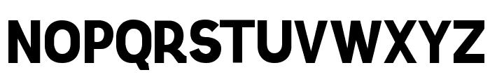 Knema Bold Font UPPERCASE