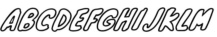 Knewave Outline Font UPPERCASE