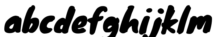 Knewave Regular Font LOWERCASE