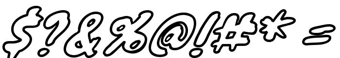 KnewaveOutline Font OTHER CHARS