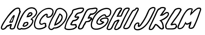 KnewaveOutline Font UPPERCASE