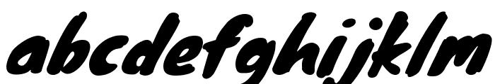 Knewave Font LOWERCASE