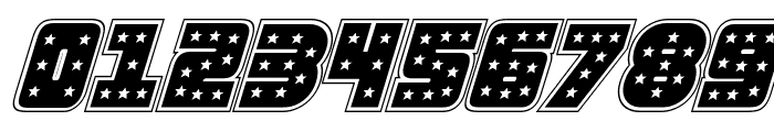 Knievel Academy Italic Font OTHER CHARS