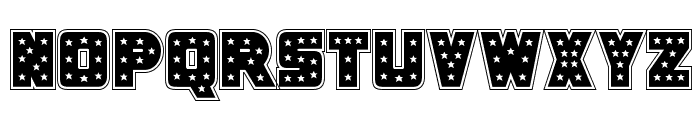 Knievel Academy Font UPPERCASE