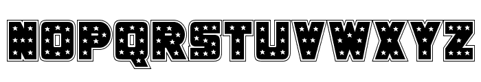 Knievel Academy Font LOWERCASE