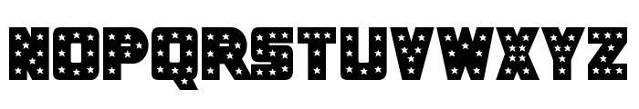 Knievel Solid Regular Font UPPERCASE