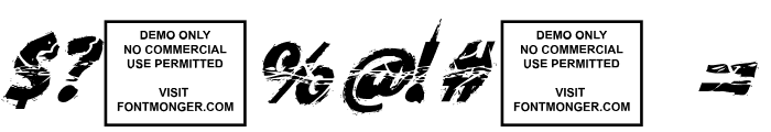 Knife Fight Ballet Italic Font OTHER CHARS
