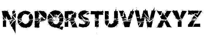 KnifeFightBallet-Regular Font UPPERCASE