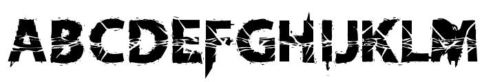 KnifeFightBallet-Regular Font LOWERCASE