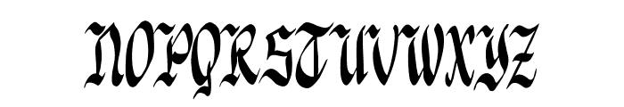 Knight Jacker Font UPPERCASE