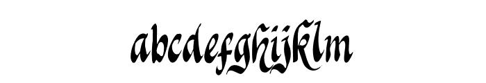 Knight Jacker Font LOWERCASE