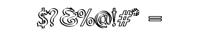 Knights Quest Callig Font OTHER CHARS