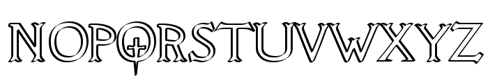 Knights Quest Callig Font UPPERCASE