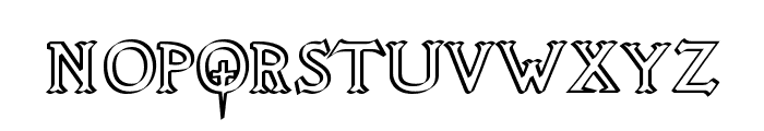 Knights Quest Callig Font LOWERCASE