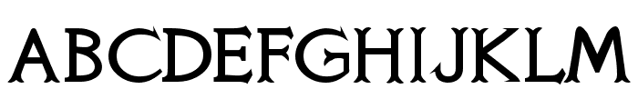 Knights Quest Font UPPERCASE